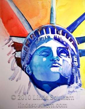 """Gift of Liberty"" by Linda Southern © 2010"